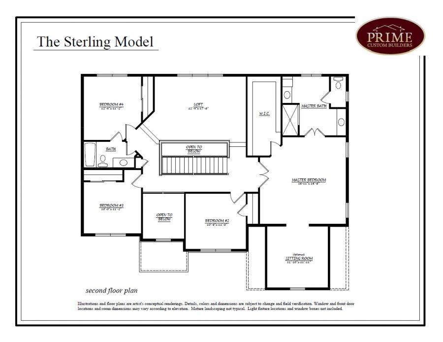 1440 Stony Road, The Yardley Floor Plan In Stony View