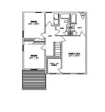 38 Park Road, 2nd Floor Floor Plan, Prime Custom Builders
