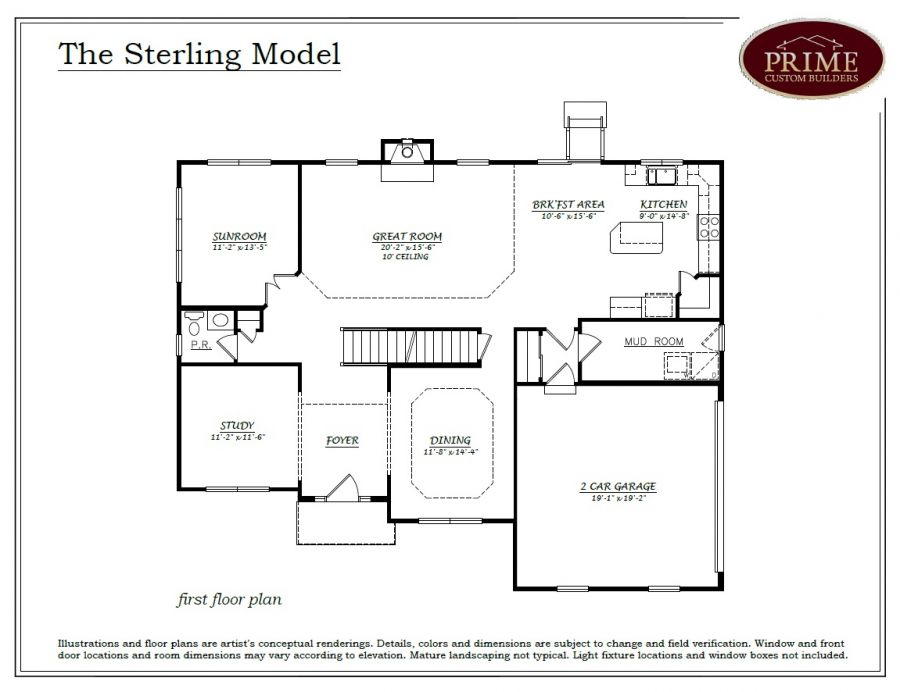 New home at lot 3 cambridge court yardley pa 4 beds 2 for Sterling plan