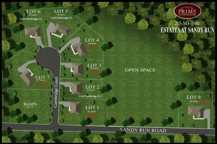 Estates at Sandy Run Community, Prime Custom Builders