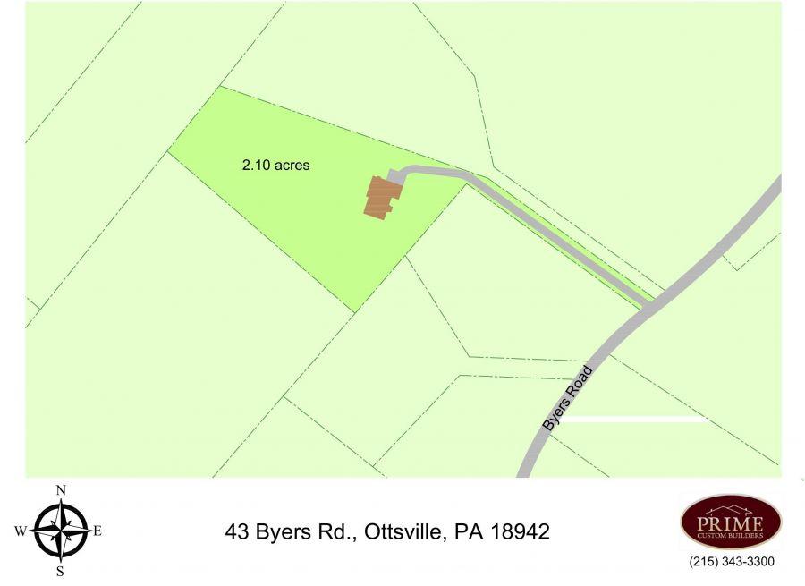 43 Byers Road, Ottsville (Nockamixon Township), PA 18942