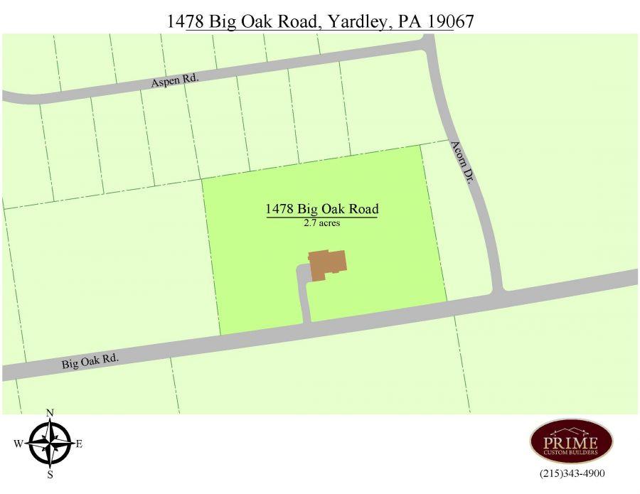 1478 Big Oak Road, Yardley, PA 19067
