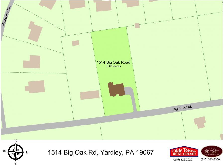 1514 Big Oak Road, Yardley,