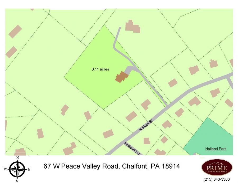 67 W. Peace Valley Road, Chalfont (New Britain Township), PA 18914