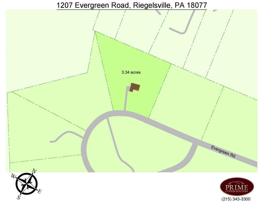 1207 Evergreen Rd, Riegelsville (Springfield Township, Bucks County), PA 18077