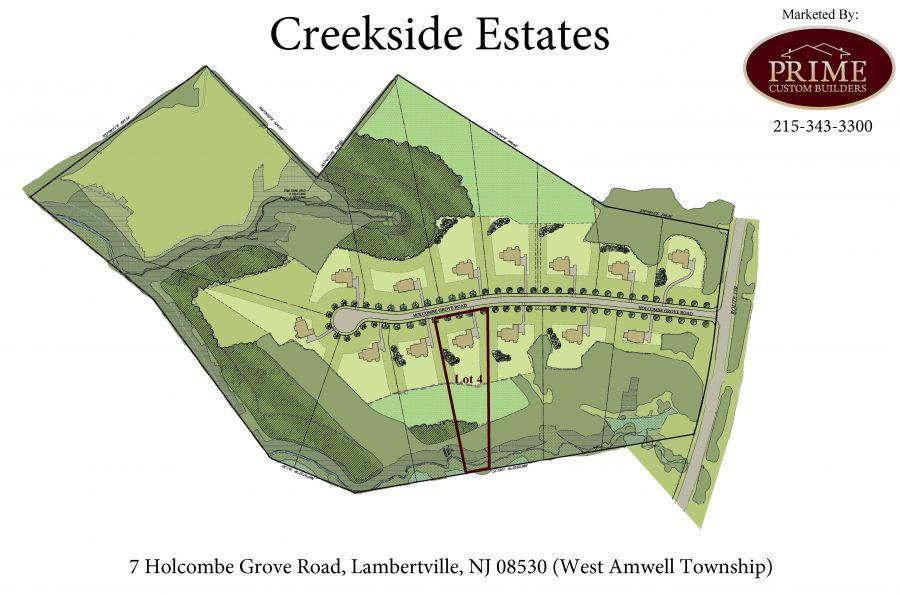 7 Holcombe Grove Road, Lambertville (West Amwell Township), NJ 08530