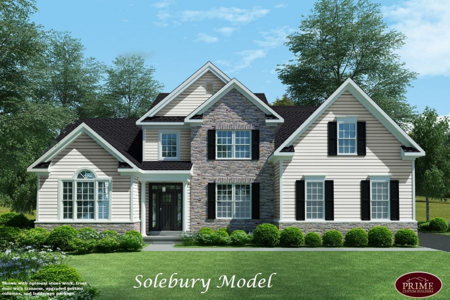 custom homes designs. Solebury With First Floor Owner Suite Home Plans  Multi Story Homes In Warwick PA Designs
