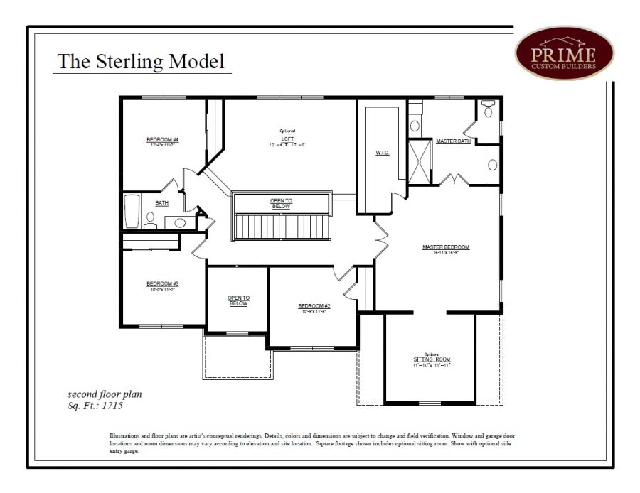 The sterling floor plans in new houses available in warwick pa for Sterling plan