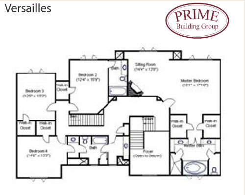 The versailles home plans is available to build on your for Versailles house floor plan