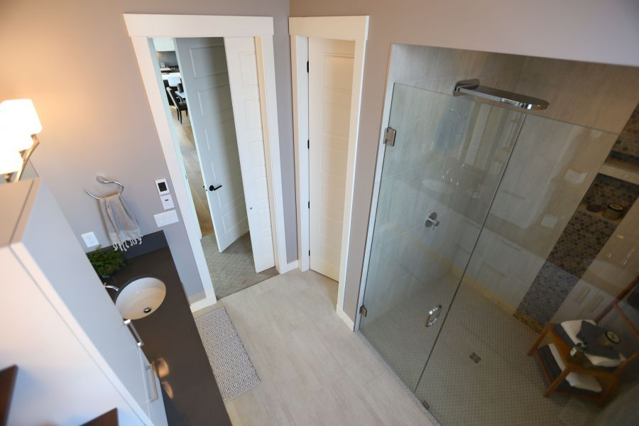 Walk-In Shower Created with SaferHomes Standards in Mind
